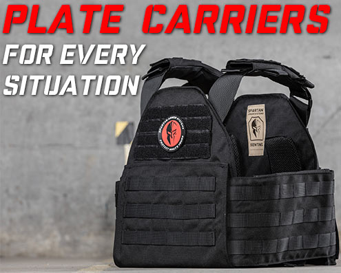 plate carriers for body armor