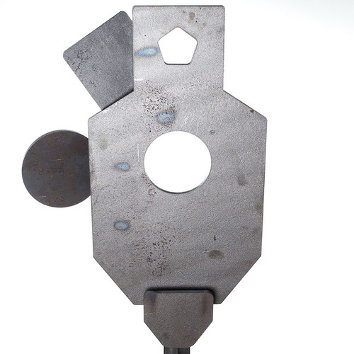 Snipers paradise ar500 steel shooting target assembled with throat