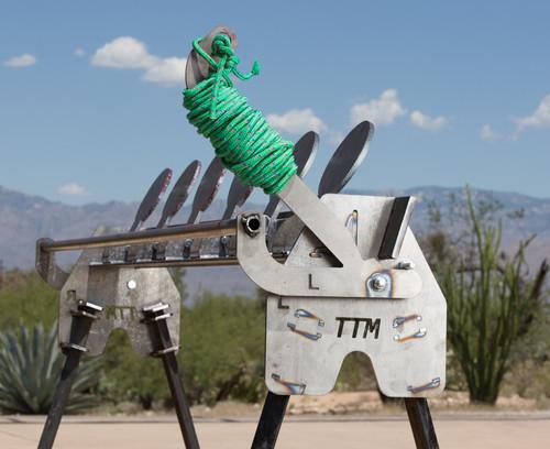 DIY AR500 Plate Rack Shooting Targets