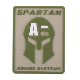 Spartan Armor Systems Blood Type Patch- A-