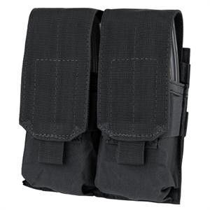 M4 Double Pistol Mag Pouch in Black
