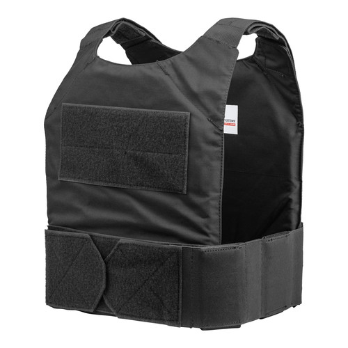 Spartan DL Concealment Plate Carrier Black - front angle