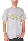 Men | Chill Like A Fish Tee (Grey) - Solifornia
