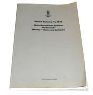 Service Bulletins Pre-1972 (TSD2859)
