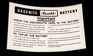 Dagenite Battery Box