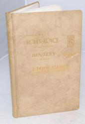 Owner's Handbook (TSD2276)