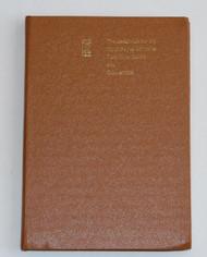Owner's Handbook Corniche Convertible TSD2774