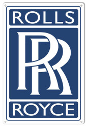 Rolls Royce Nostalgic Sign