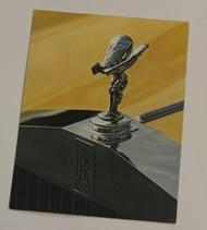 Silver Shadow, Corniche Brochure