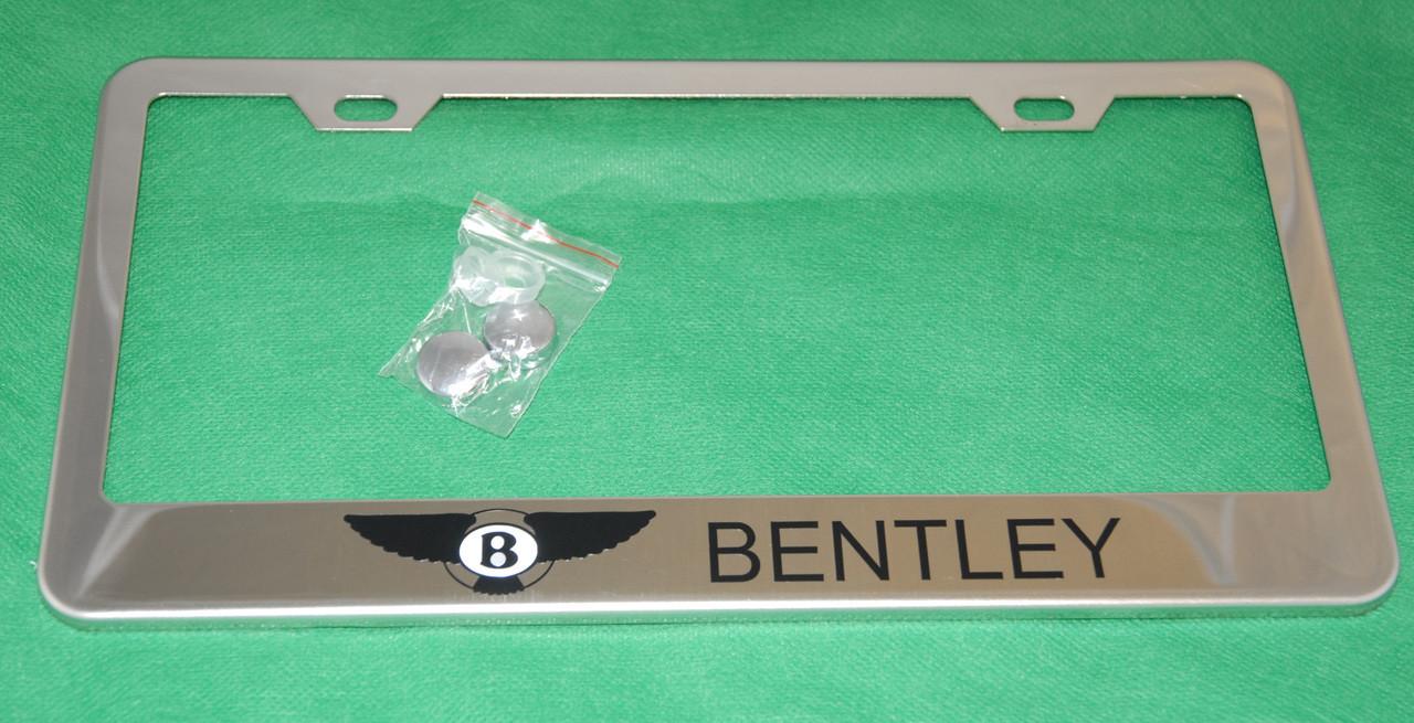 bentley license plate frame. Black Bedroom Furniture Sets. Home Design Ideas