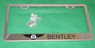 Bentley License Plate Frame