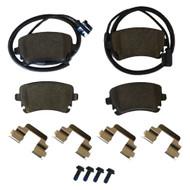 Rear Brake Pad Set (3W0698451J)