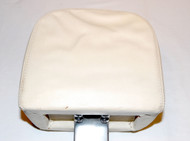 White (USED) nice condition Headrest (UB16810)