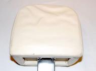 White (USED) nice condition Headrest (UB16810)