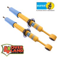 SS59801 Nissan D40 Navara TD and petrol  on Bilstein Aus spec Front coil over kit  smoothie 0-3 lift.