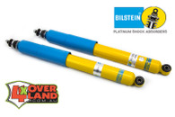 """SS59801 Nissan D40 Navara TD and petrol on Bilstein Aus Spec Rear 2.0 smoothie shock including boot 0-3"""" lift."""