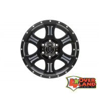 "17"" Shield Wheels Black & Machined Finish Jeep"