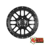 "20"" Alpha Wheels Satin Black Finish for GM2500"