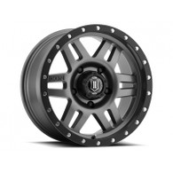 "17"" Six Speed Wheels GunMetal Finish for Ford"