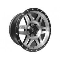 "17"" Six Speed Wheels Black & Machined Finish for Toyota"