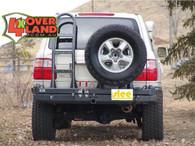 Toyota Land Cruiser 100 Series 98-07 IFS 100 Slee Rear Dual Carrier Rear Bumper