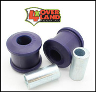 Toyota Land Cruiser solid axle chassis offset bushes (8mm) fit larger tyres and gain clearance tyre to front fender