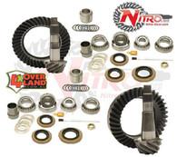 Toyota FJ Cruiser 4.88 Ratio, Nitro Ring & Pinion with OEM REAR E-locker, 4.88 Ratio, Nitro Front & Rear Gear Package Kit