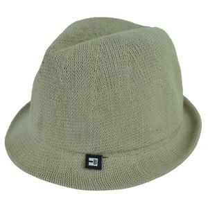 Block Headwear Dune Fedora Medium Relax Gangster Trilby Stetson Hat Solid Khaki