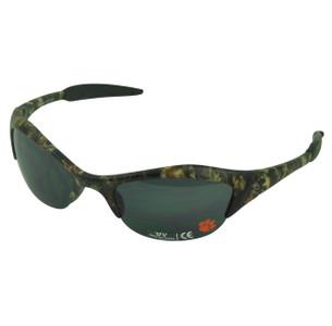 NCAA Clemson Tigers Camo Plastic Sunglasses Shade Sport Shatter Resistant Beach