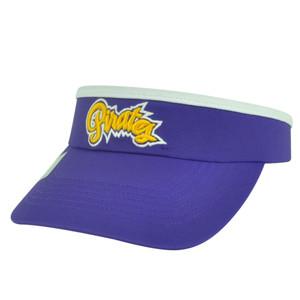 NCAA East Carolina Pirates ECU Top of the World Womens Cut Sun Visor Hat Purple