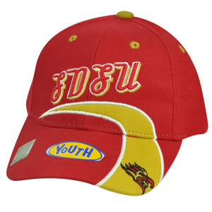 NCAA San Diego State Aztecs Youth Adjustable Red Velcro Hat Cap Sport SDSU Game