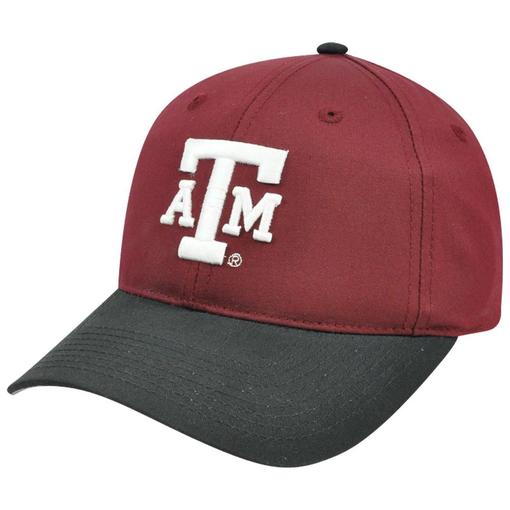 d8d8d72a24c NCAA Texas A   M Aggies Mascot Logo Adult Small Adjustable Velcro ...