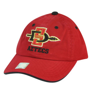 NCAA San Diego State Aztecs Youth Garment Wash Sun Buckle Hat Cap Red Relaxed