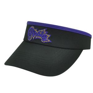 NCAA East Carolina Pirates ECU Top of the World Womens Cut Sun Visor Hat Black