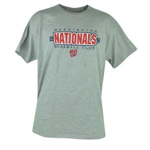 MLB Washington Nationals Tshirt Cup Mug Mens Set Grey Baseball Shirt Tee Cotton