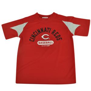MLB Cincinnati Reds Gotham Youth Boy Tshirt Tee Baseball Sport Fan Short Sleeve