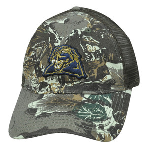 NCAA Pittsburgh Panthers Camouflage Mesh Hat Cap Adjustable Velcro Garment Wash