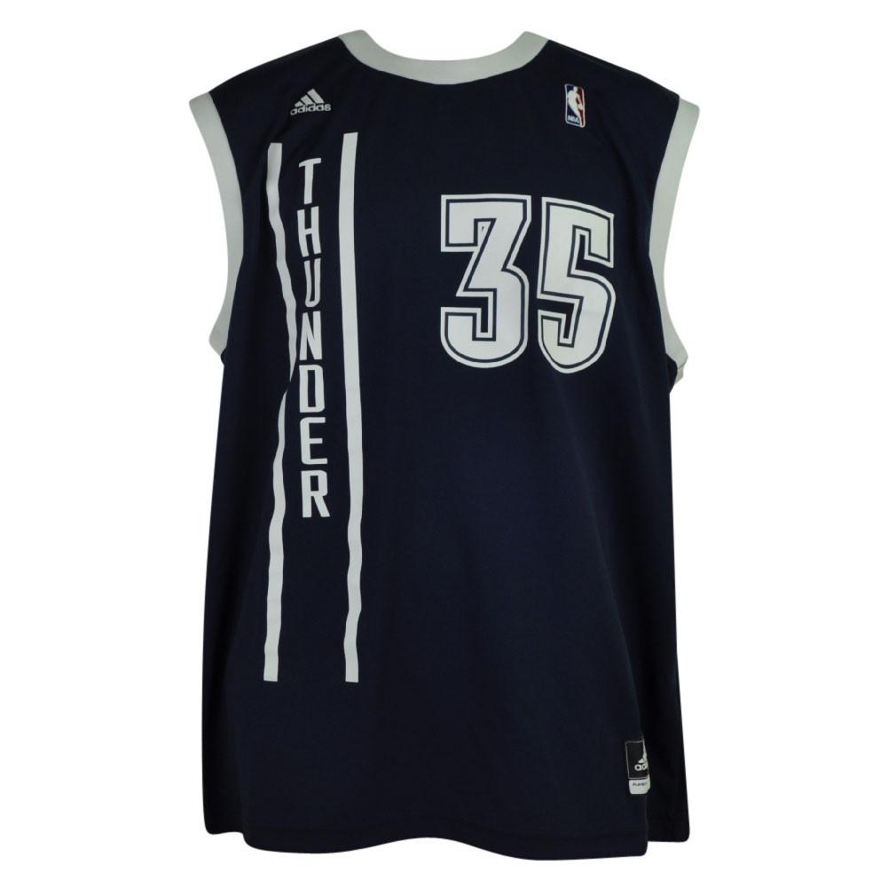 1f247f8d23ad NBA Oklahoma City Thunder OKC Pro Cut 35 Kevin Durant Mens Jersey Adidas  Navy. Image 1