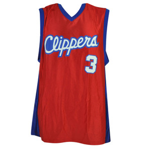 NBA Los Angeles Clippers Dazzle Jersey Chris Paul 3 Mens Adult LA Basketball Red