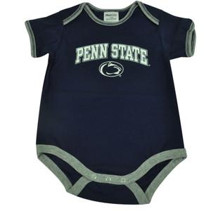 NCAA Penn State Nittany Lions Bodysuit Creeper Baby Boy Infant Navy Blue