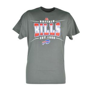 NFL Buffalo Bills Sully Mens EST 1960 Football Tshirt Grey Tee Fan Zone