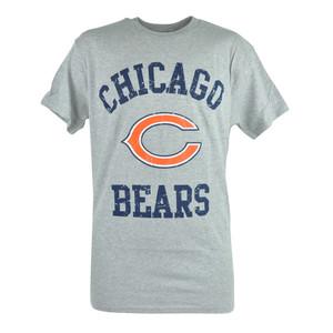 NFL Chicago Bears Star Power Distressed Tshirt Tee Football Grey Shirt