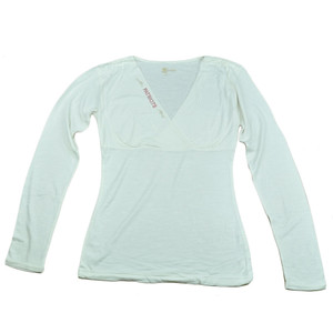 NFL New England Patriots The Blitz Women Ladies Long Sleeve Glitter Shirt