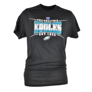 NFL Philadelphia Eagles Sully Mens EST 1933 Football Tshirt Black Tee Men