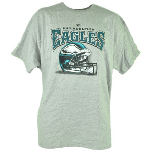 NFL Philadelphia Eagles Tshirt Cup Set Grey Tee Mug Football Short Sleeve Cotton