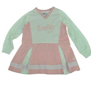 NFL Philadelphia Eagles Nigella Cheerleader Long Sleeve Dress Youth Pink