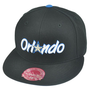 NBA Mitchell Ness TK40 Orlando Magic Black Alternate Fitted Hat Cap