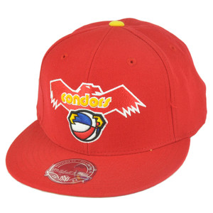ABA Mitchell Ness TU40 Pittsburgh Condors Basic Fitted Wool Hat Cap