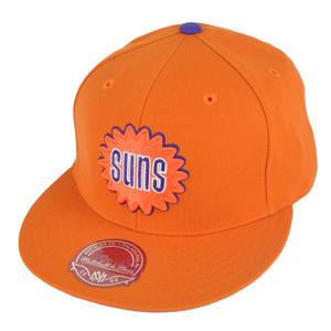 NBA Mitchell Ness TK07 Phoenix Suns Team Second Fitted Hat Cap