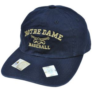 NCAA Notre Dame Fighting Irish Baseball Top of World Garment Wash Sun Buckle Hat